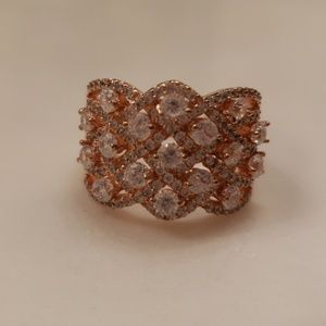 Jewelry - Brand new Rose Gold plated statement ring